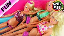 Drei Schwangere im Barbie Camper | Urlaub mit Überraschung | Schwangere Steffi Love bekommt Baby