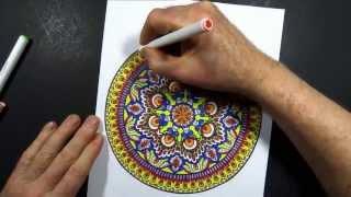 Coloring Book Art : Mandala 8
