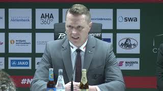1878 TV | Pressekonferenz 01.02.2019 Augsburg-Nürnberg 2:3 nP