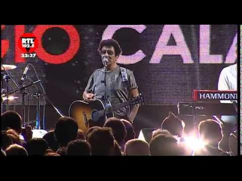 Edoardo Bennato Reggio Calabria 04-08-2011 tv RTL 102.5