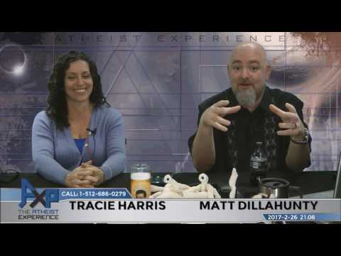 Atheist Experience 21.08 with Matt Dillahunty and Tracie Harris