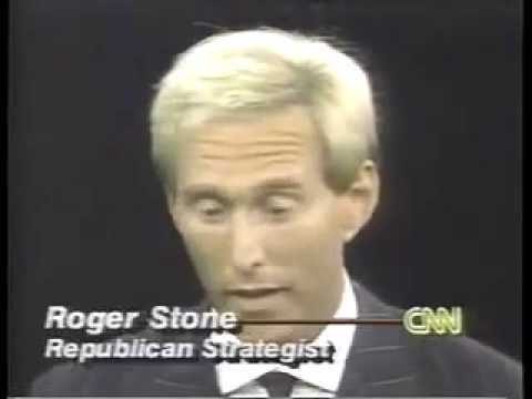 Roger Stone - on Bill Clinton's character (1992)