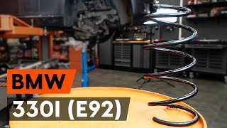 Spotlight Bulb fitting BMW 3 Coupe (E92): free video