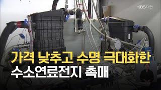 가격 낮추고 수명 극대화한 수소연료전지 촉매 / KBS…