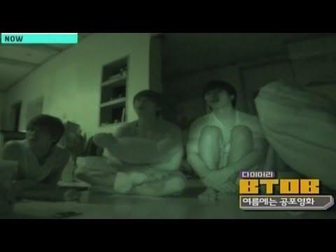 BTOB Watch Horror Movies... [Eng.sub]