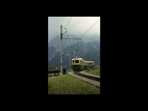 スイスの鉄道  SWS017 ab WAB Kl....