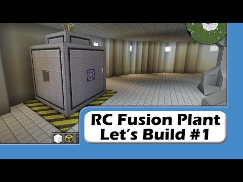 ReactorCraft - Fusion Plant Build #1