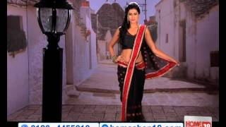 HomeShop18.com - Fashionable Designer Saree By Khazana Sarees
