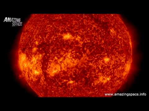 Time lapse of the Sun in 4K - Stunning 4K / Ultra HD Looking at Solar Activity/ Solar Flares CMEs