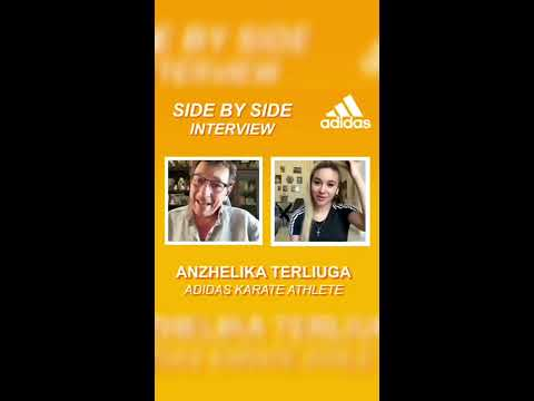 KARATE - SIDE BY SIDE INTERVIEW with Anzhelika Terliuga