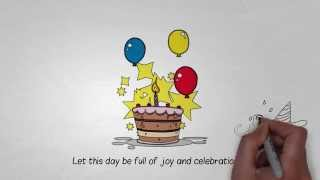 Amazing Happy Birthday Song With Video Animation