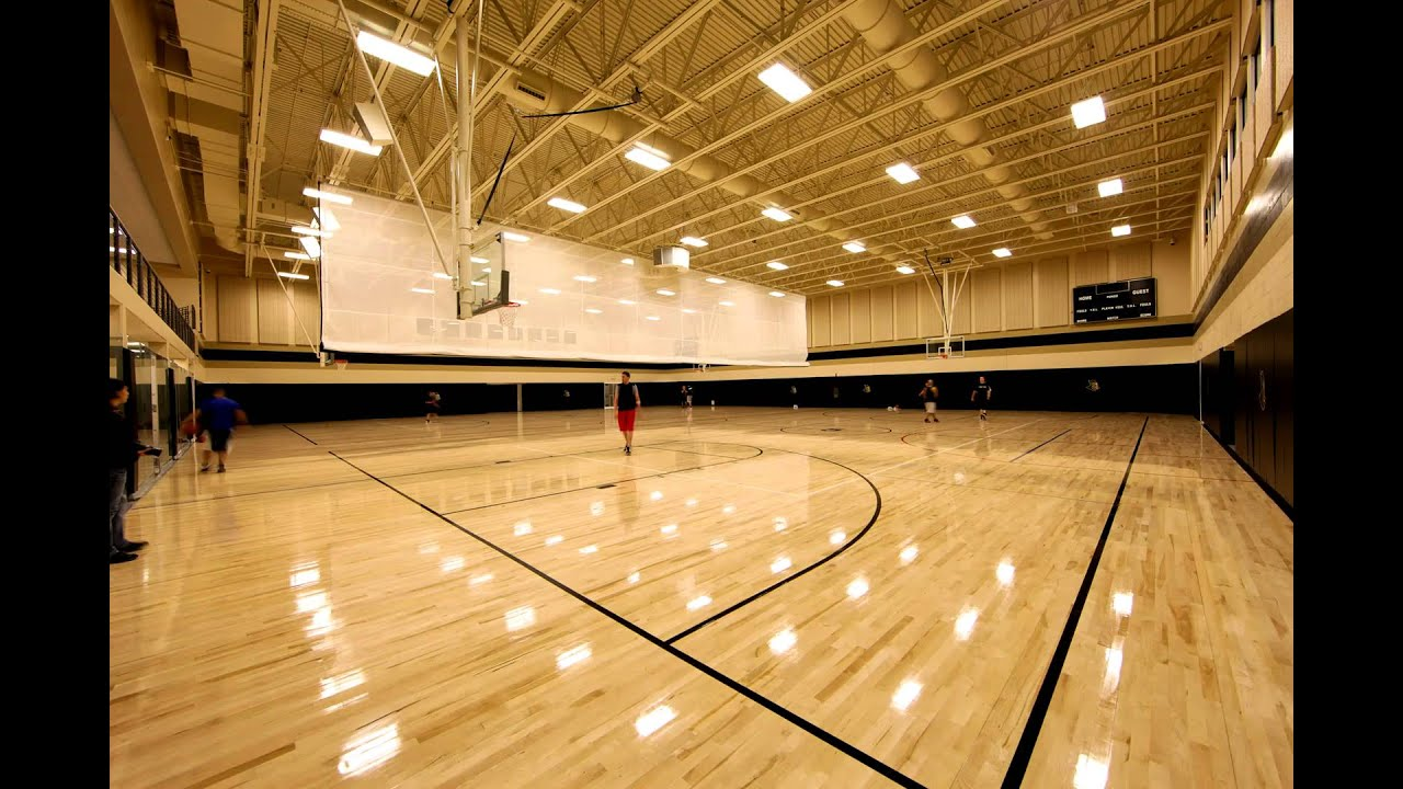 Ucf Rec Center Basketball Gym Youtube