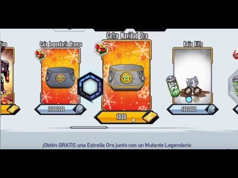 Mutants Genetic Gladiators - Cajas legendarias 2017