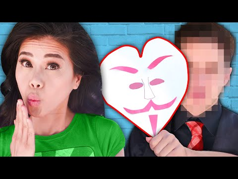 MY Ex BOYFRIEND FACE REVEAL UNMASKED! Vy Saving Boring Chad On A Date With Hacker Crush For 24 Hours