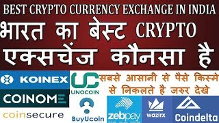 Best Cryptocurrency Exchange in India जहाँ आसानी से पैसे निकाल/ जमा करे अभी भी | Comparison