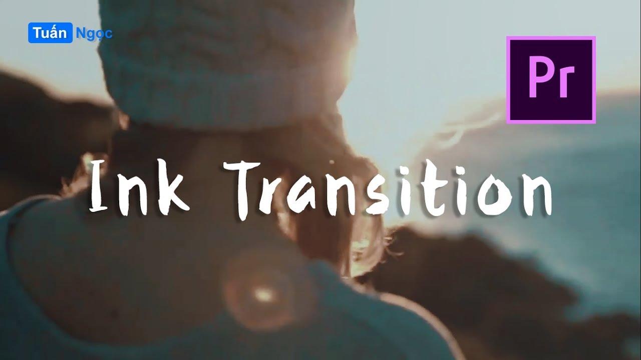 Hướng dẫn chuyển cảnh Smooth Ink Transition trong Premiere Pro // Track  Matte Key
