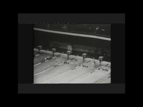 David Theile 100m Backstroke 1956 Olympics