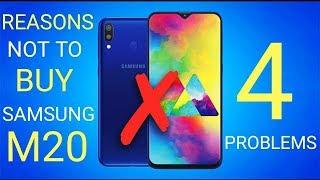 4 Problems With Samsung Galaxy M20