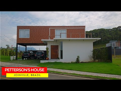 Petterson's Shipping Container House in Joinville, Brazil