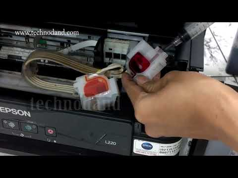 Cleaning Epson Head L110 Doovi