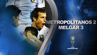 Metropolitanos vs. Melgar [2-3] | RESUMEN | Fecha 1 - Fase de Grupos | CONMEBOL Sudamericana 2021