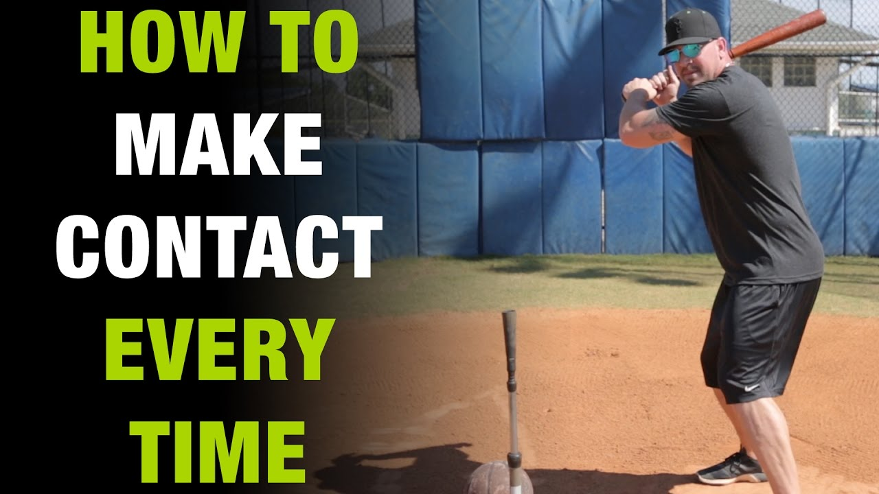 How To Make Better Contact When Hitting A Baseball How To Tuesday Ep 2