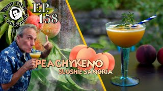 How to make Peach Sangria - It's a Peach Sangria Slushie - A PEACHYKENO!