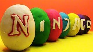 Ninjago Play Doh surprise eggs