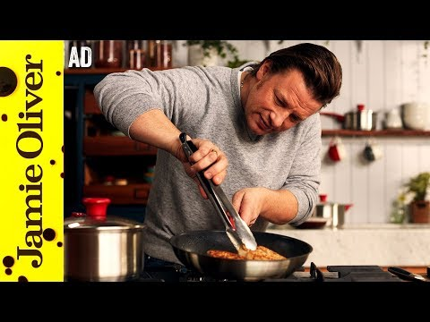Golden Chicken with Minty Veg | Jamie Oliver - AD