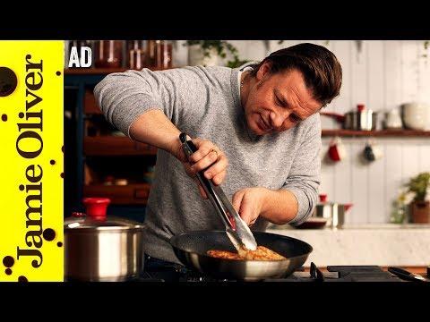 Golden Chicken With Minty Veg | Jamie Oliver - AD