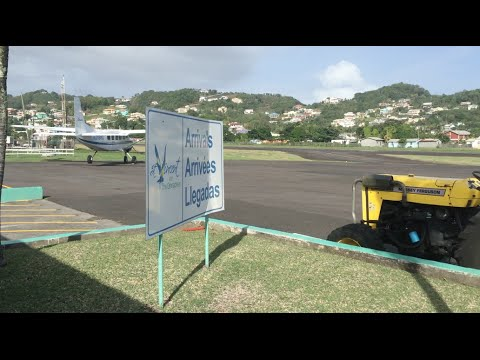 Seat Backs & Tray Tables: St Vincent  Travel Day!