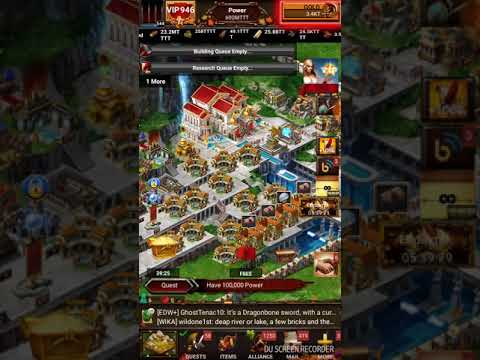 Game of war recent update troop/trap set up, 1 click training and more