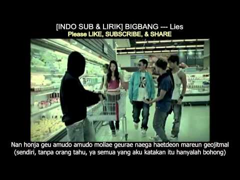 [INDOSUB & LIRIK] BIGBANG --- Lies (MV)