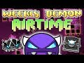 FLASHBACK FRIDAY - (Weekly Demon #39) Geometry Dash 2.11 - Airtime [3 Coins] - By nasgubb