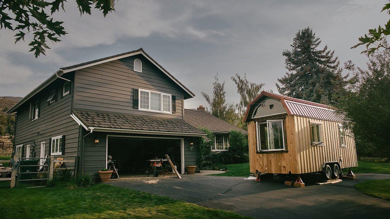 Small Beautiful Tiny House Documentary Trailer