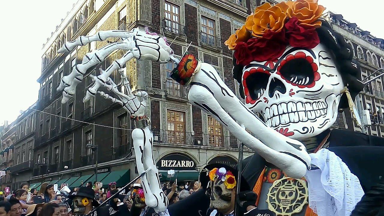 Resultado de imagen para desfile dia de muertos cdmx