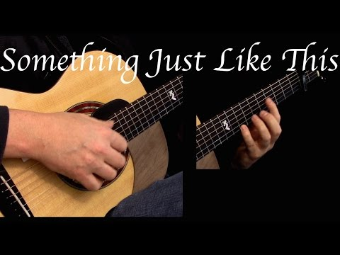 Kelly Valleau - Something Just Like This (The Chainsmokers & Coldplay) - Fingerstyle Guitar
