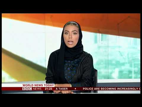 First female television news anchor (Saudi Arabia) - BBC News - 23rd September 2018