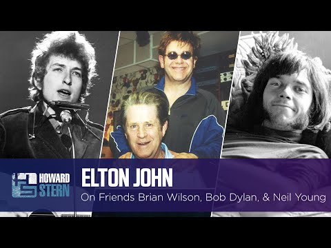 Elton John Tells Stories About Brian Wilson, Bob Dylan, and Neil Young