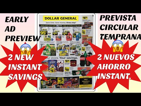 DOLLAR GENERAL EARLY AD PREVIEW 9/22 — PREVISTA CIRCULAR D DOLLAR GENERAL 9/22