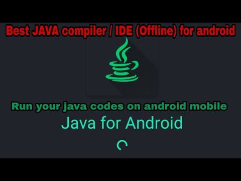 How To Compile/Run JAVA Codes In Android (offline) | Best Java IDE For Android Mobile