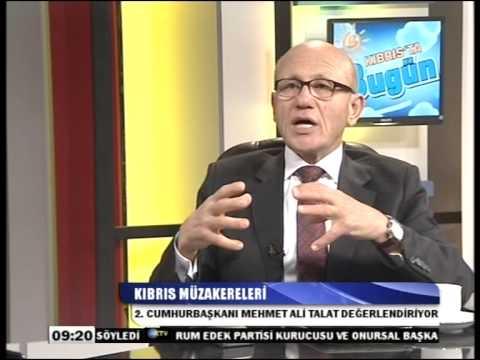 KTV - Kıbrıs'ta Bugün - 2.Cumhurbaşkanı Mehmet Ali Talat 27/02/2014