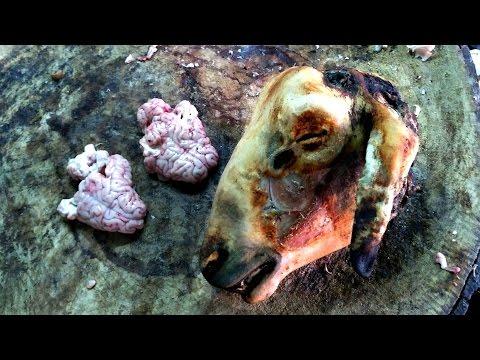 Lamb Brain Fry Recipe | Mutton Bheja Fry Village Style | Delicious Goat Brain Fry Recipe