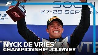 Nyck de Vries' Championship Journey | 2019 Formula 2 Season Highlights