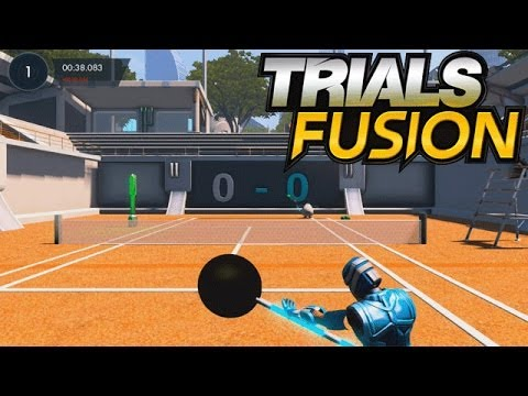 Trials Fusion Gameplay Part 4 - Penguin Tennis  (PS4 / XBOX ONE)