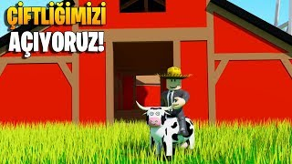 We're Building our 🌾 Farm! Super Game! 🐮 | Welcome to Farmtown | Roblox English