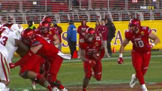 Indiana Hoosiers vs Utah Utes End of Game Foster Farms Bowl NCAA 2016