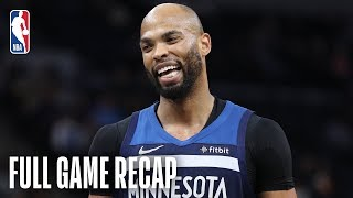 KNICKS vs TIMBERWOLVES | Taj Gibson Records Season-High | March 10, 2019