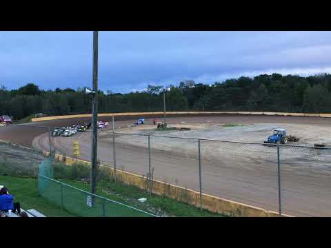 RJ Sherman #22R Racing Heat Race at Hamlin Speedway 8th to 4th