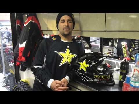Ivan Tedesco Invites You To Join Airoh Rockstar Helmet Facebook Giveaway